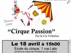 "photo de Spectacle ""Cirque Passion"" à la rochelle"
