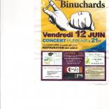 "photo de Diner concert ""LES BINUCHARDS"""