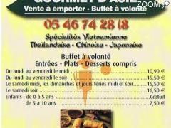 photo de Buffet asiatique